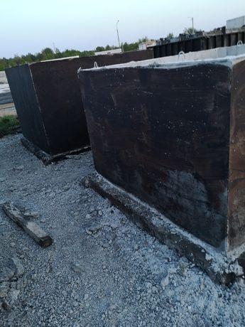 Zbiornik betonowy na gnojówkę 11 tys litrów szambo betonowe