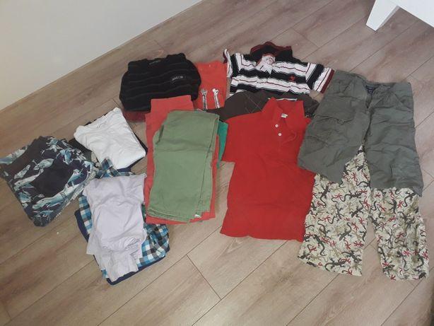 Zestaw ubrań chłopięcych H&M, Reserved 140 -158