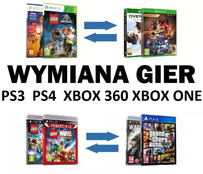 Wymiana gier na konsole w Płońsku XBOX 360, ONE, Playstation PS3 - PS4 Płońsk - image 1