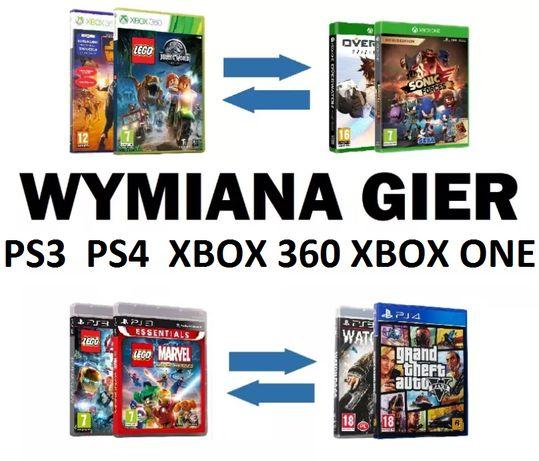 Wymiana gier na konsole w Płońsku XBOX 360, ONE, Playstation PS3 - PS4