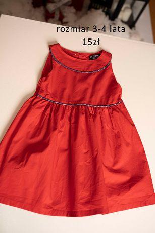Sukienka swiateczna 3-4 lata Gucci