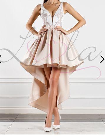 Sukienka ala Lou rozm XS z trenem