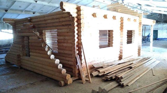 Эко-Дом, Деревянный дом, Сруб, Баня