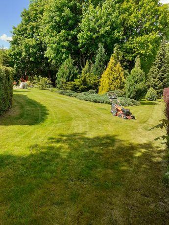 Koszenie trawy/Usługi mini traktorkiem / pielęgnacja ogrodów