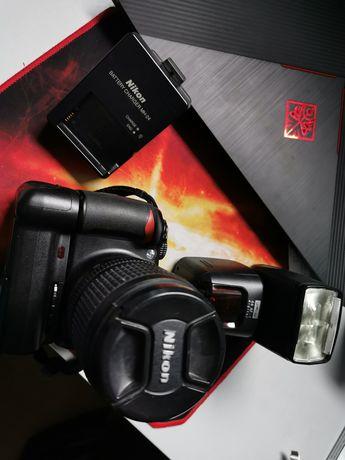 Sprzedam mój aparat Nikon D3100 Lampa Metz