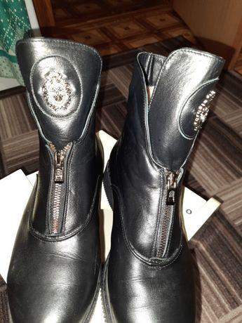 Ботинки кожаные 41 размер