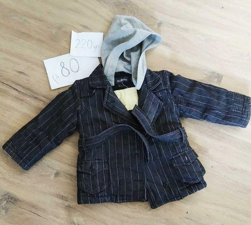Курточка - пальто детская демисезонная