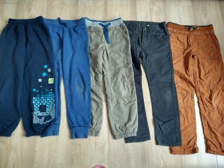 Spodnie chłopięce rozm.122-134