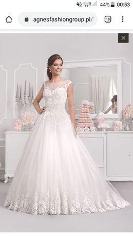 Suknia ślubna plus