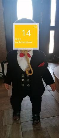 Garnitur chłopiec 74 80 chrzciny roczek kaszkiet szafa krasnali