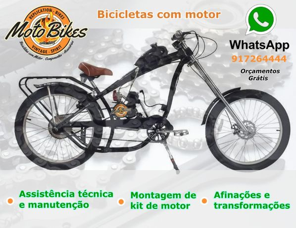 Manutenção de Bicicletas a motor