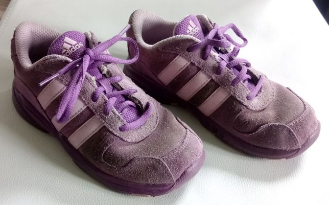 Buty zamszowe marki Adidas, rozmiar 27