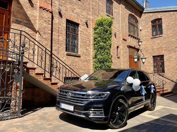 Samochód do ślubu Volkswagen Touareg