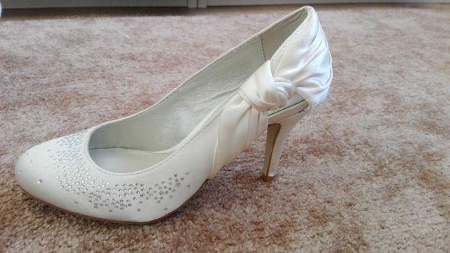 Buty ślubne, rozmiar 36, MENBUR