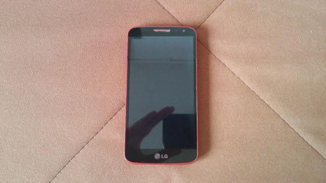 LG g2 mini stan dobry kolor czerwony + ładowarka