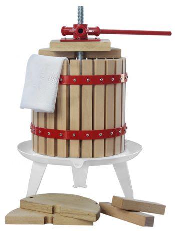 PRASA WYCISKARKA do soku owoców wina 12 L + WOREK