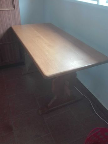 Stół ława lita dębowa