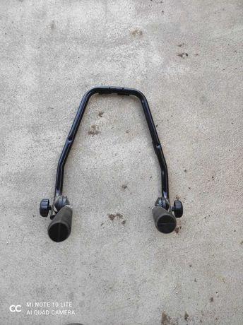 Suporte de parede para 2 bicicletas