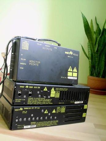 Zestaw Unikatowych Zasilaczy 3xWEIR M5040 SMS 300/24 500/01/01 Kraków