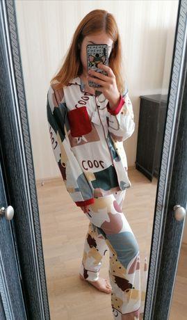 Новая яркая хлопковая пижама