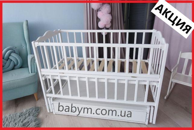 Ліжко/ліжечко дитяче/колиска/БЕЗКОШТОВНА ДОСТАВКА/Рв