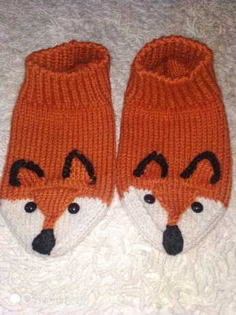 Носки эксклюзивные лисички, панды, ежики