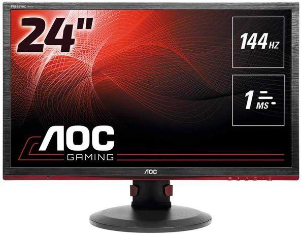 """Игровой монитор AOC G2460PF 144Hz 1ms 24"""" FullHD Обмен"""