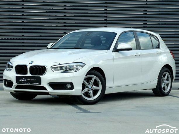 BMW Seria 1 Salon PL / 118d Advantage, Automat, LED, Nawigacja, Rej 12/2015, FV23%