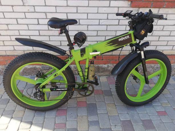продам электровелосипед ROVER Monster 1 Lime