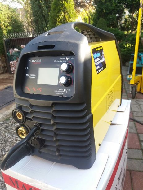 Migomat Spawarka Tig Magnum Mig 208 Alu Synergia 200A