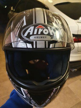 Kask motocyklowy firmy AIROH. Stan bardzo dobry!