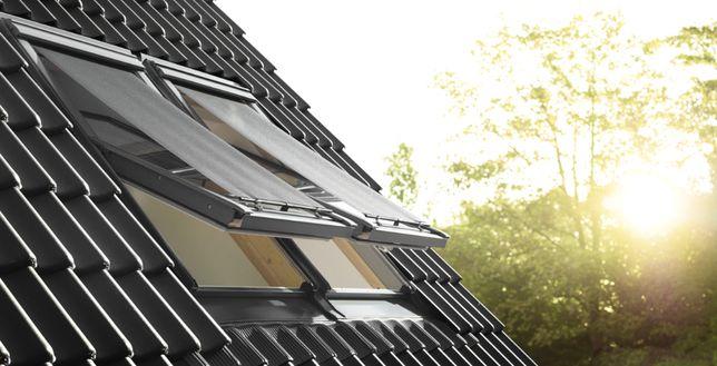 Markizy zewnętrzne na okna dachowe VELUX/ rolety samodzielny montaż