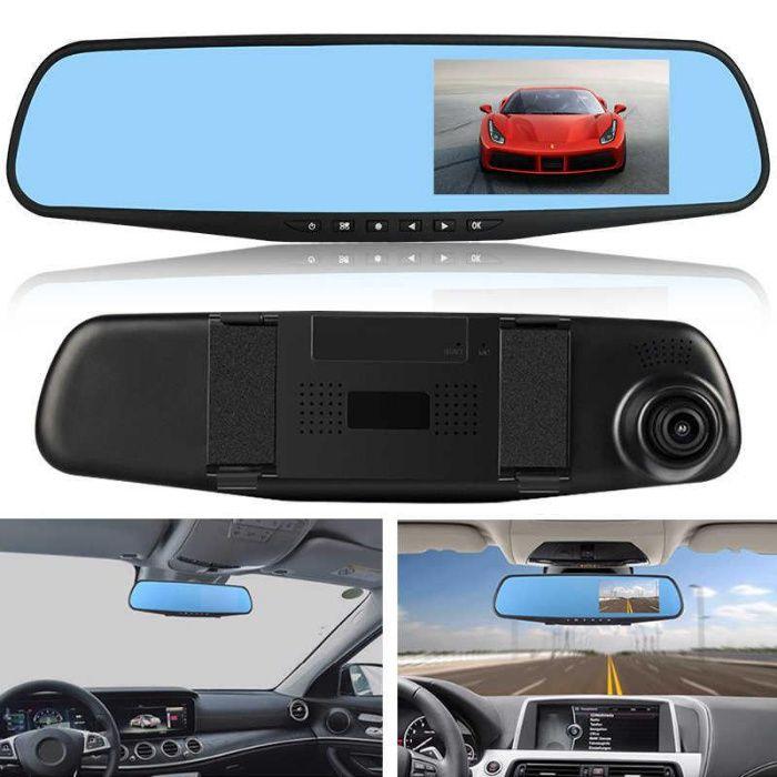 Автомобильный видеорегистратор-зеркало DVR L900 с двумя камерами, Одесса - изображение 1