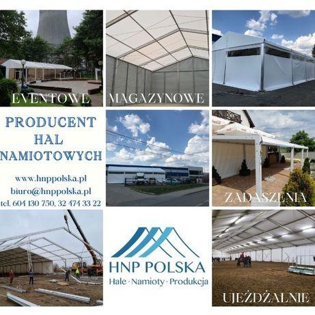 Hala namiotowa aluminiowa, producent, na zamówienie, cena, leasing