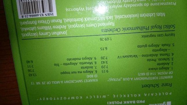 Schubert Franz -płyta CD