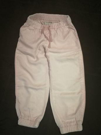 Spodnie Zara róż 104