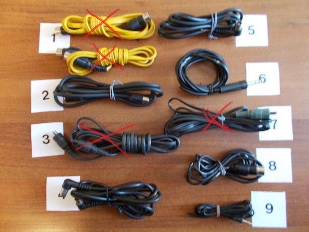 Przedłurzacze / Kable audio - mono/stereo /