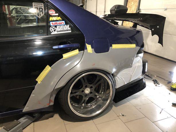Расширение, задние крылья, widebody kit Lexus is200/altezza