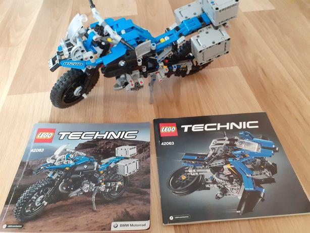 LEGO TECHNIC 42063 BMW R 1200 GS Adventure Motor