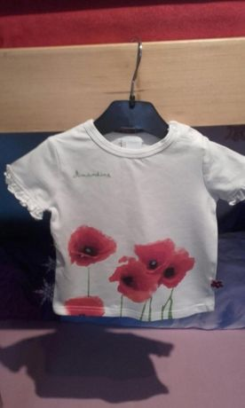 Koszulka dla dziewczynki rozm 80 Coccodrillo