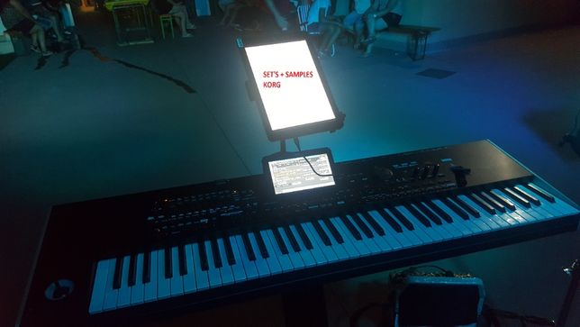 Set's Pro ritmos e samples Korg PA3x e PA4x