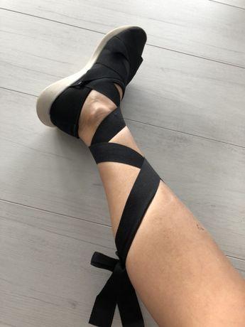 ZARA rzymianki balerinki trampki