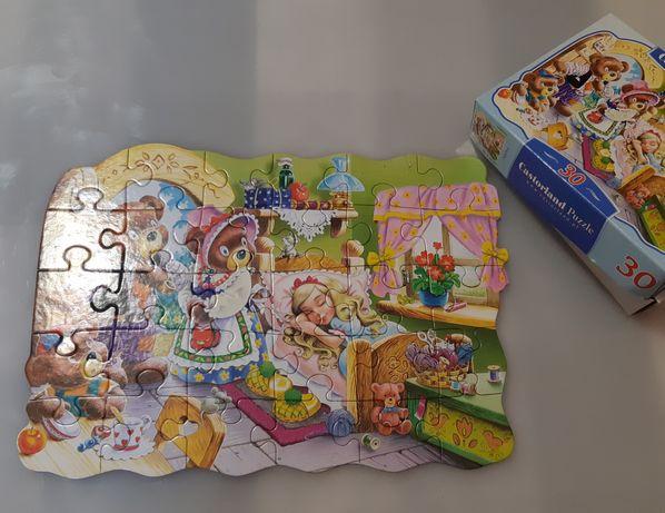 Пазлы крупные Castorland Puzzle 30 элементов, сказки