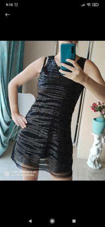 Платье пайетки..