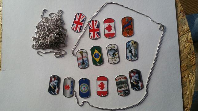 Fio,medalha estilo militar .