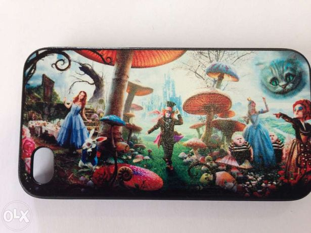 Capa nova rígida para Iphone 4 -Alice