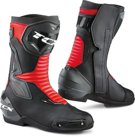 Buty sportowo turystyczne TCX SP MASTER czarno czerwone 43 28,5 cm