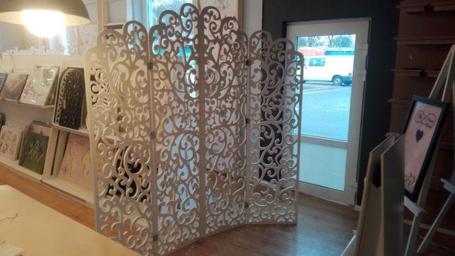 Ścianka ażurowa 207x200cm. Idealna dekoracja na Twoje wesele.