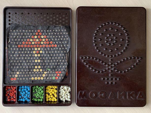 Советская карболитовая мозаика (СССР / клеймо)