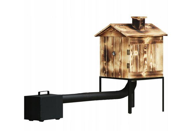 Wędzarnia Ogrodowa Drewniana Drzwiczki Wędzarnik od 50cm do 140 cm